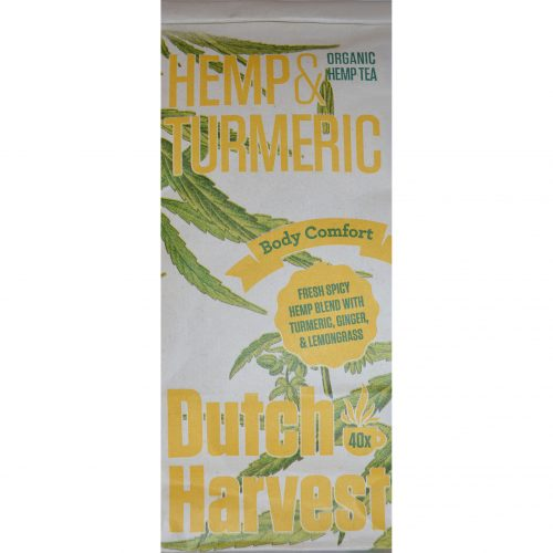 Hemp Tea Tumeric